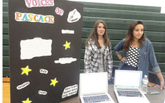 Students sample course offerings at Pascack Fair