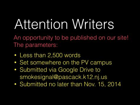 Creative Writing Opportunity