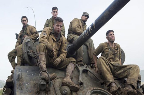 Fury: A realistic and brutal look at the last days of World War II