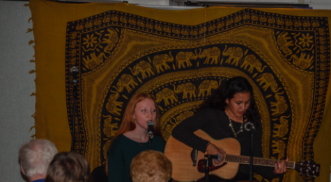 Cafeteria transformed into coffeehouse to benefit PV Choir