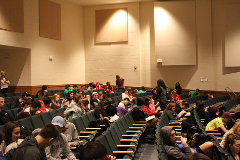 Behind the scenes of the PARCC refusal: Inside the auditorium