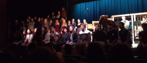 PV students and staff perform in Talent Night