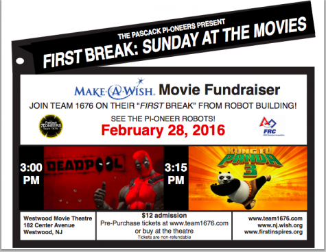 Pascack Pi-oneers host movie fundraiser for Make-A-Wish Foundation