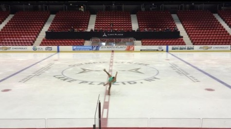 PV senior takes to the ice to showcase her talents