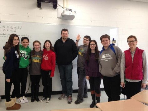 Co-director of PV's Theatre program visits Theater Arts class