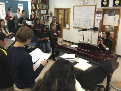 Interim choir teacher to fill big shoes