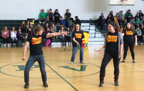 """Pippin"" flash mob surprises onlookers during lunch"