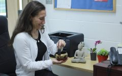 Students practice mindfulness to reduce stress and increase attention