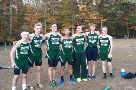 PV boys cross country team captures league championship