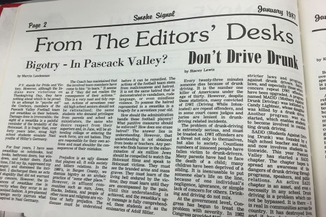 From our archives: Bigotry – In Pascack Valley?