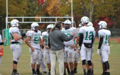 Pascack Valley coach Craig Nielsen addresses his players during his tenure as hea
