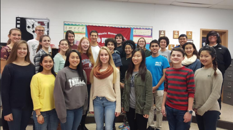 Tri-M Music Honor Society members to perform concert