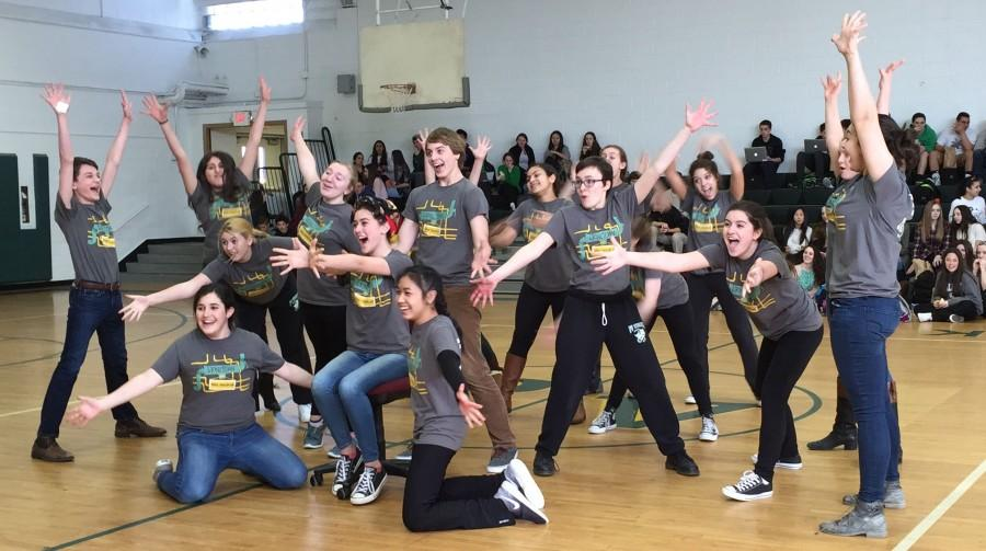 Urinetown cast holds flashmob during lunch