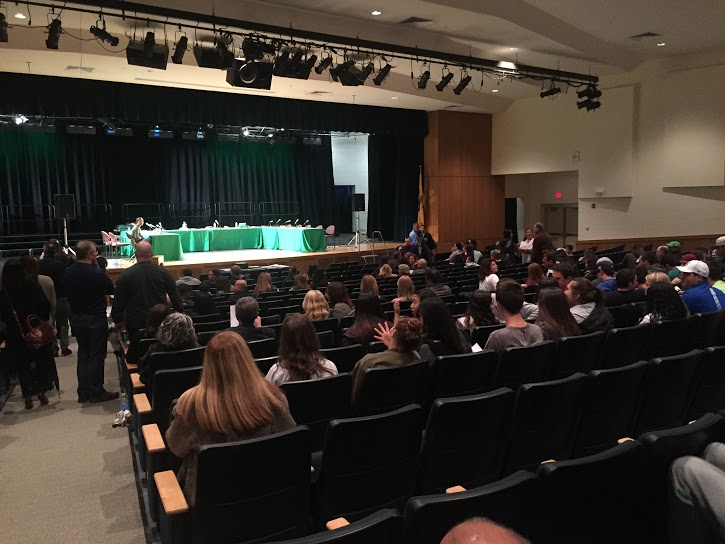 Several+Pascack+Valley+and+Hills+students+sat+in+the+audience+at+the+Board+of+Education+meeting+last+night+to+learn+or+voice+their+opinions+about+the+new+transgender+policy.