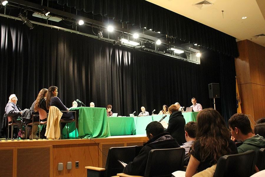 The+Board+of+Education+met+yesterday+at+4+p.m.+and+voted+to+forward+the+new+proposed+transgender+policy.