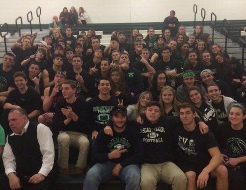 This picture was put on Twitter on March 2 by the PV Sports Fear the Indian account. It is one of the photos that could have been used to identify which students were at this game.