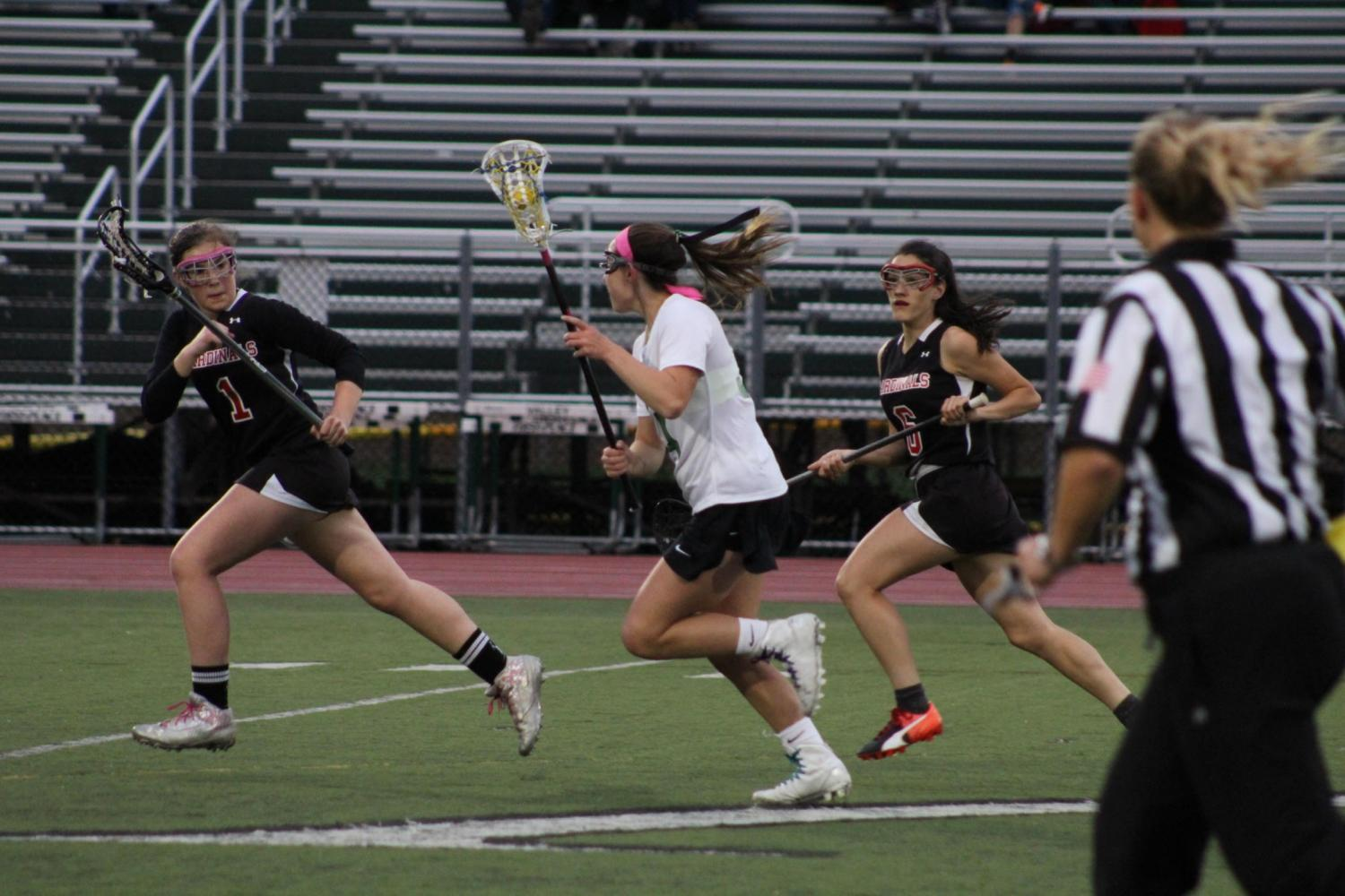Elisabeth Ralph will look to once again be the driving force for the Pascack Valley offense in the second round of the Bergen County Tournament