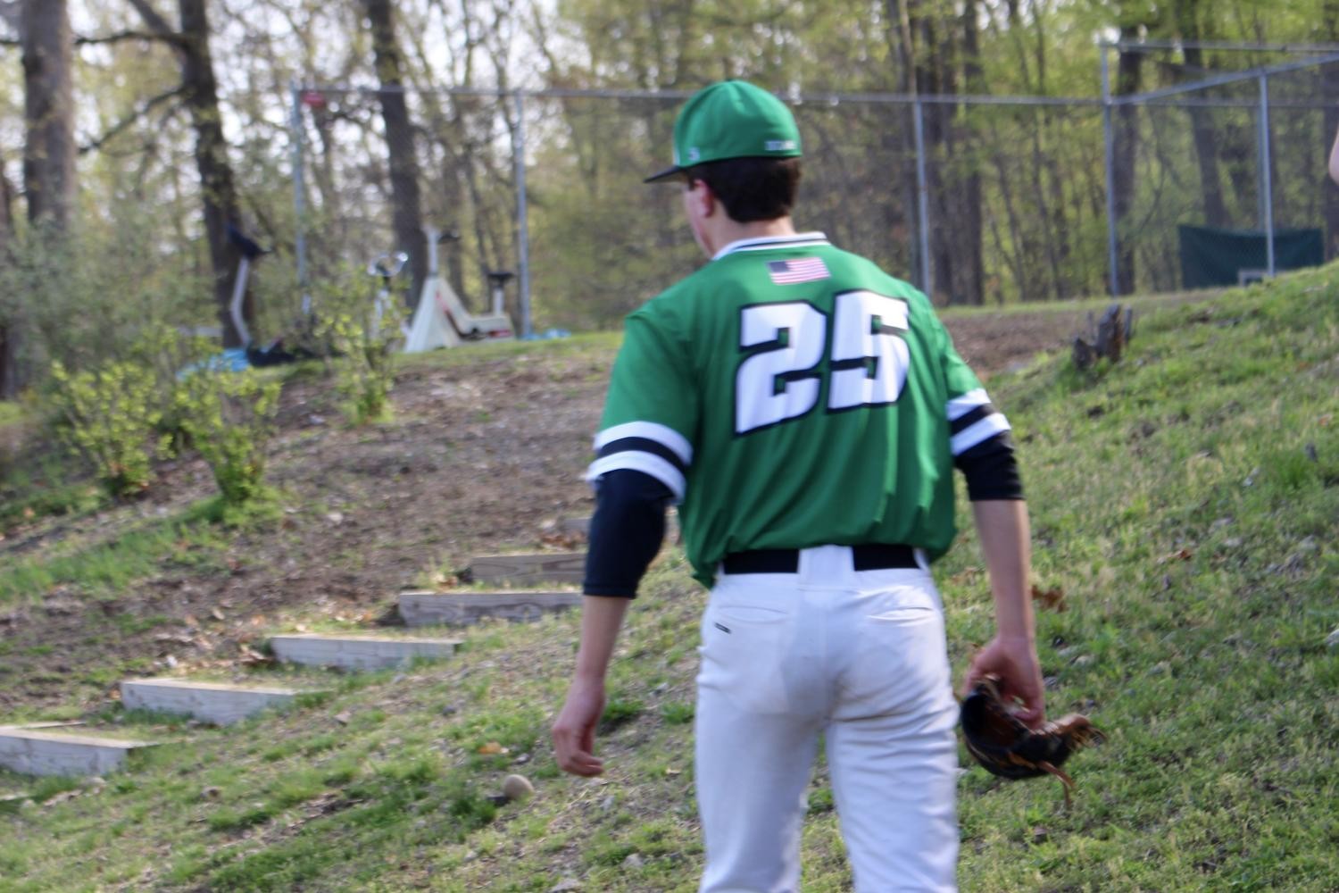 Pascack+Valley+starting+pitcher+Riley+Weis+before+a+game.+Weis+threw+6+innings+and+got+the+no-decision+in+PV%27s+3-2+extra+inning+loss+to+Cranford+in+the+Group+3+semifinals.