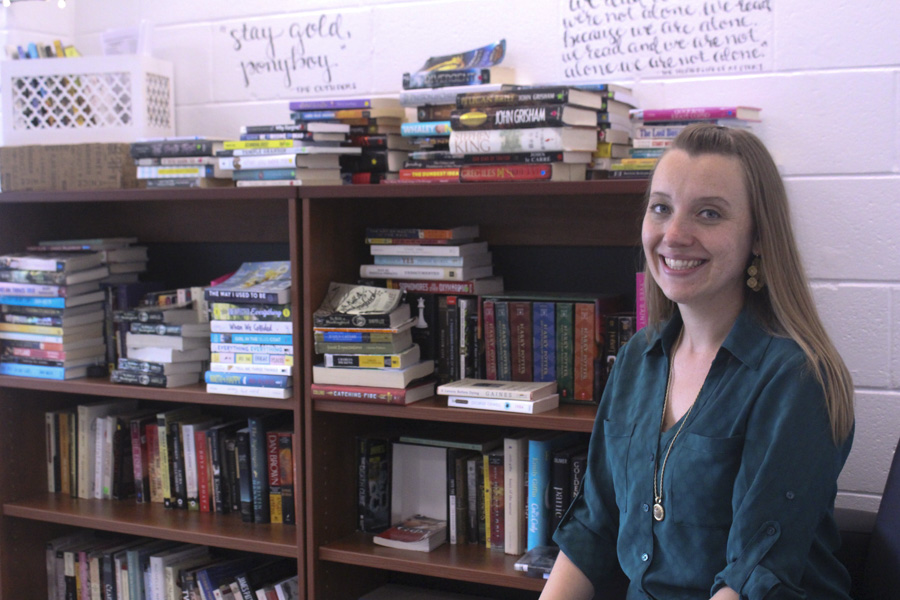Mrs. Kate Gilmour is a new English teacher at Pascack Valley. She teaches sophomores and juniors.