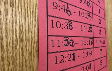 District introduces new schedule