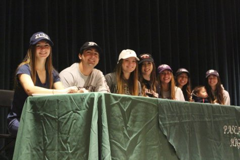 PV athletes participate in National Signing Day