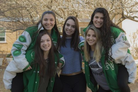 Athlete of the Week: Five senior cheerleaders