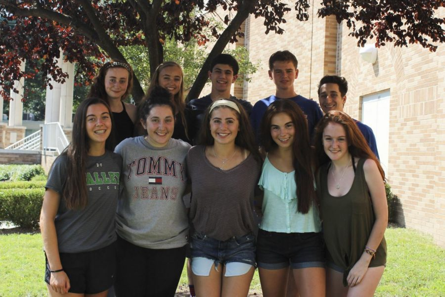 (From top left clockwise): Rachel Cohen, Tara Healy, Josh DeLuca, Noah Schwartz, Jeremy Lesserson, Katie Mullaney, Kayla Barry, Madison Gallo, Ava Devincenzo, and Molly Heintze