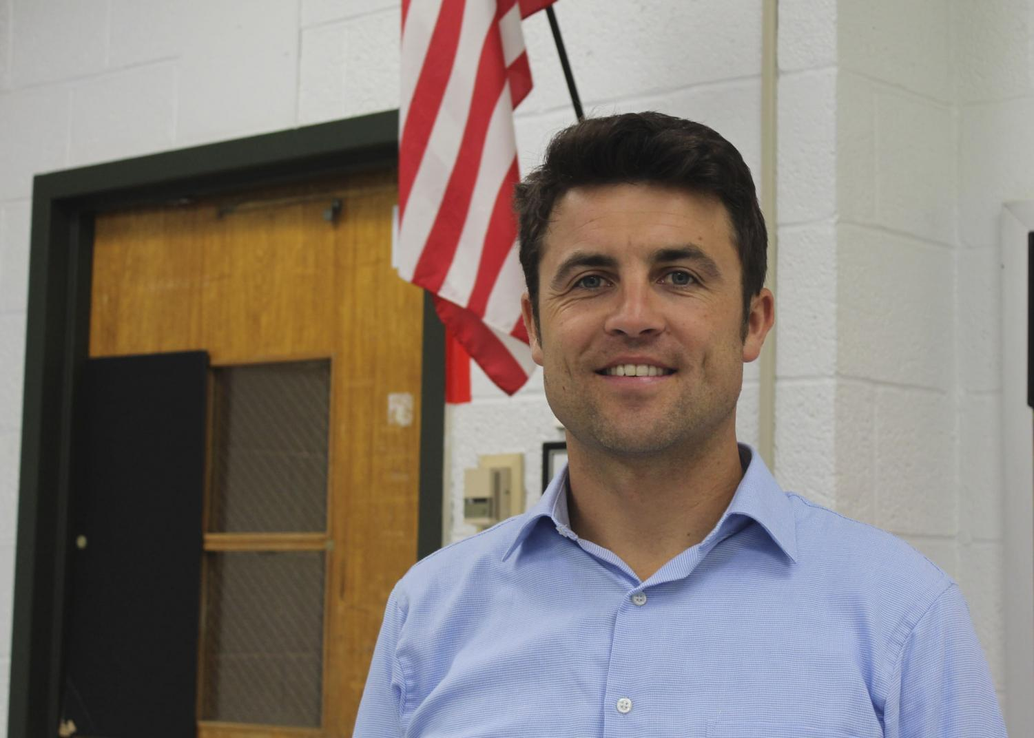 Mr. Daniel Phillips is one of PV's new teachers this year.