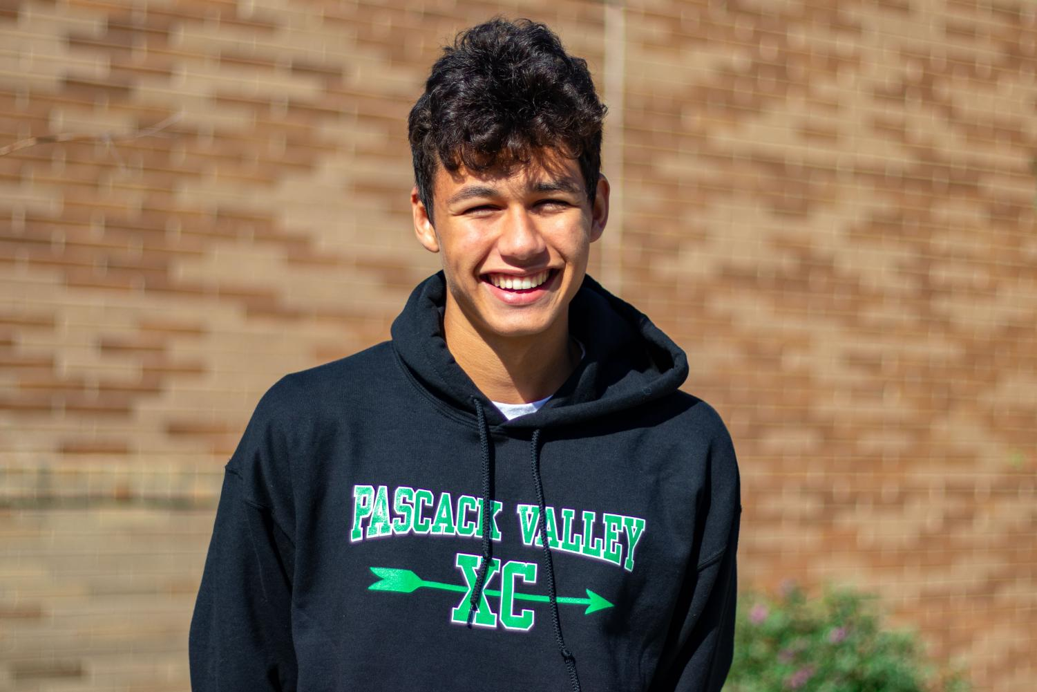John Edwards is the Smoke Signal's Athlete of Week for the week of October 15. Edwards runs Cross Country at Pascack Valley.