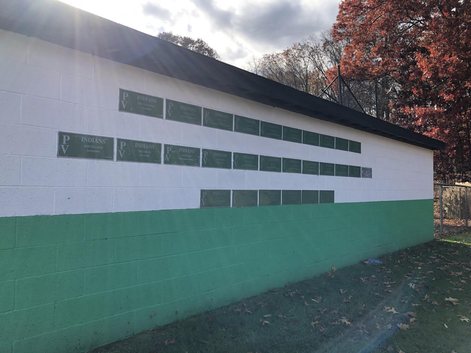 The Smoke Signal broke the news last week that two swastikas were found inside of PV bathrooms. More instances of hate speech were found etched into plaques along the back of PV's third base dugout.