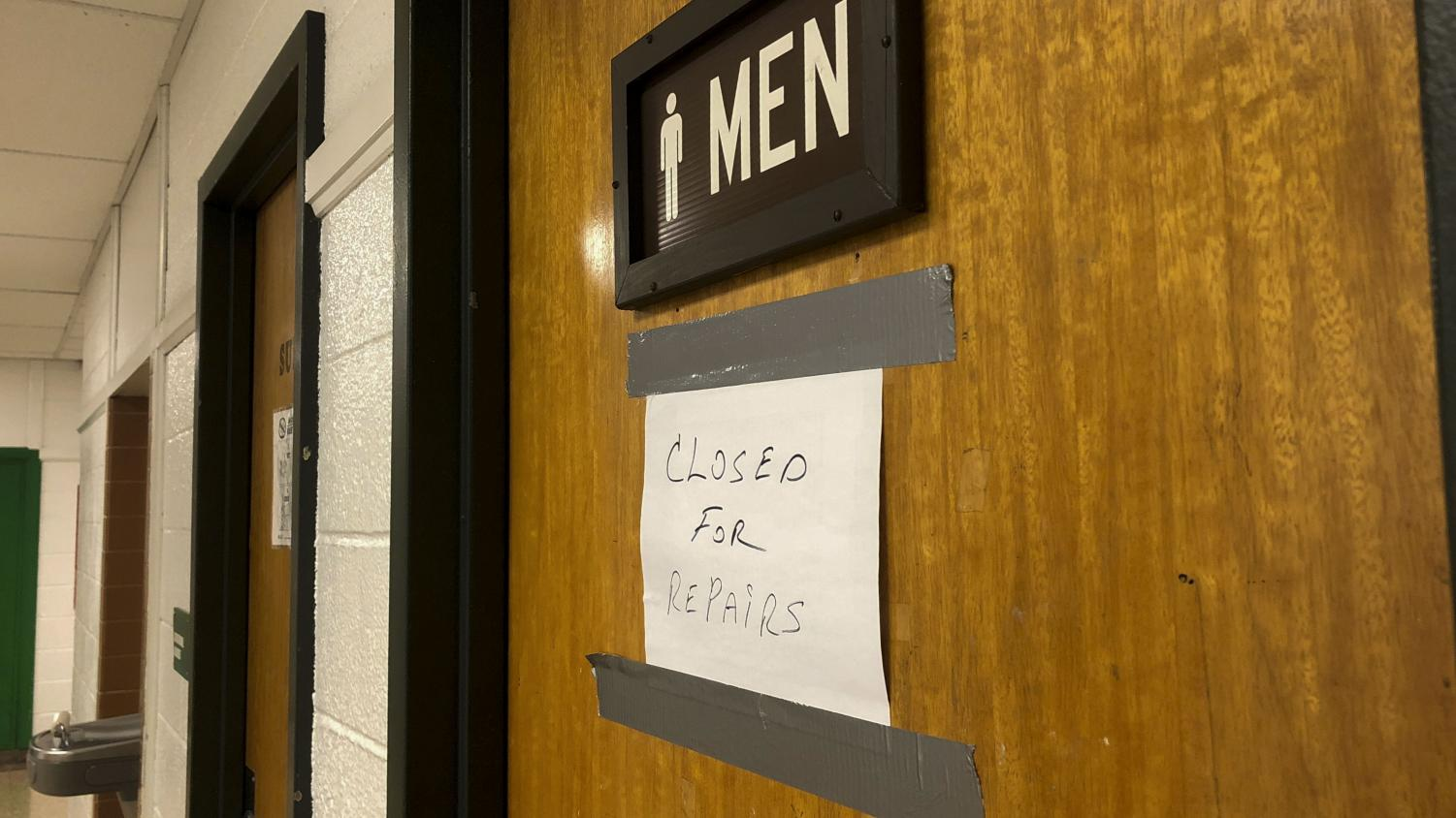 The second floor boys bathroom in Pascack Valley has been closed since September. At the recent PVRHSD Board of Education Meeting, it was revealed that this bathroom and another one were defaced with anti-Semitic illustrations.