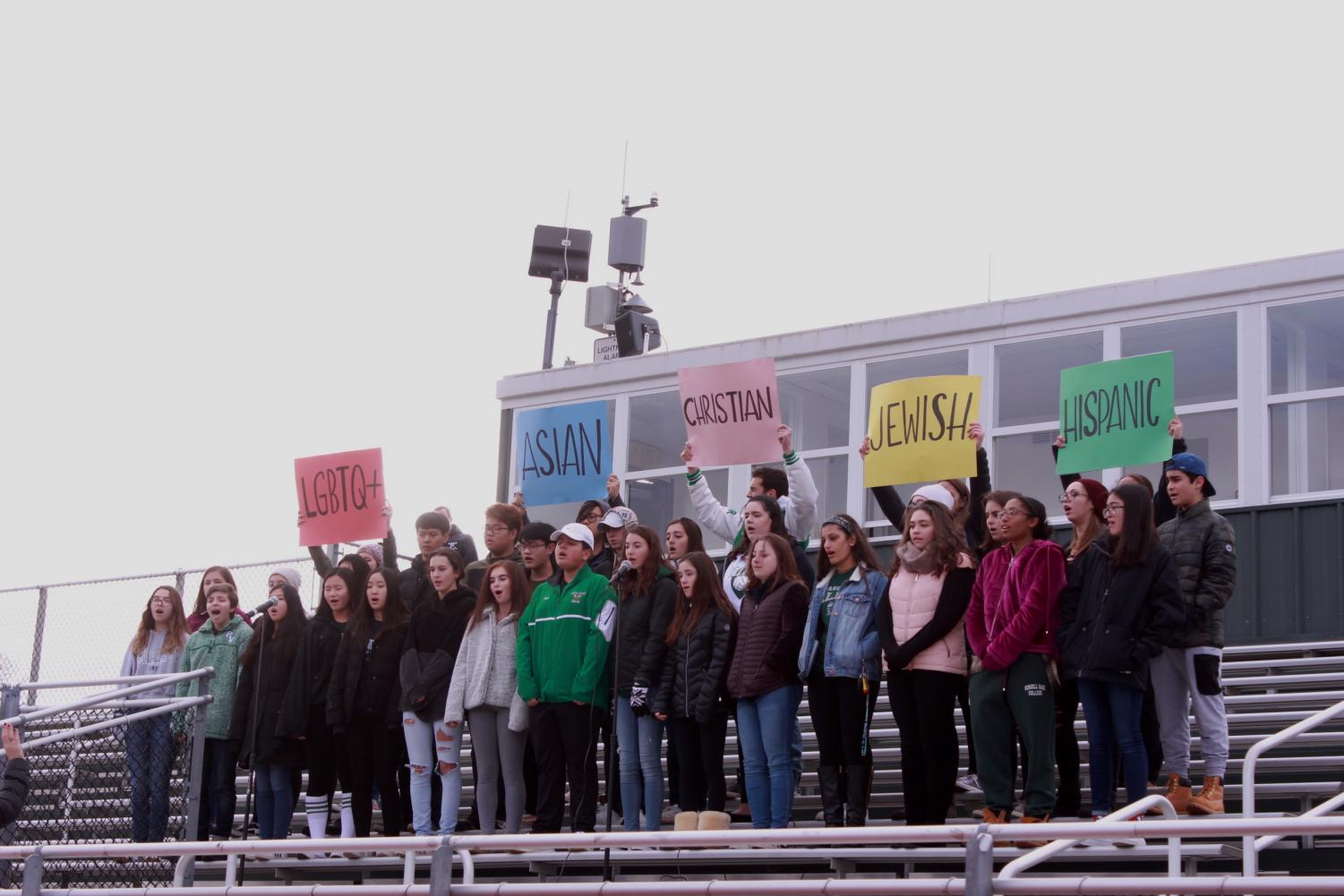 Pascack Valley participates in 'Movement of Unity' – The