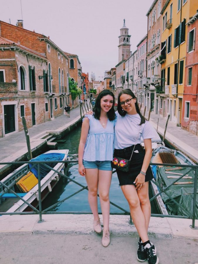 Ruby Comiskey visited Carlotta Facchin at her home in Italy. Two years ago, they met on an app named HelloTalk where an individual is connected with a native speaker of the language they wish to learn.