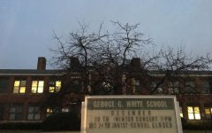 A swastika was found in a boys bathroom stall on Tuesday, Dec. 4, at George G. White Middle School in Hillsdale. Principal Donald Bergamini informed the Hillsdale Schools community in an email sent on Tuesday.