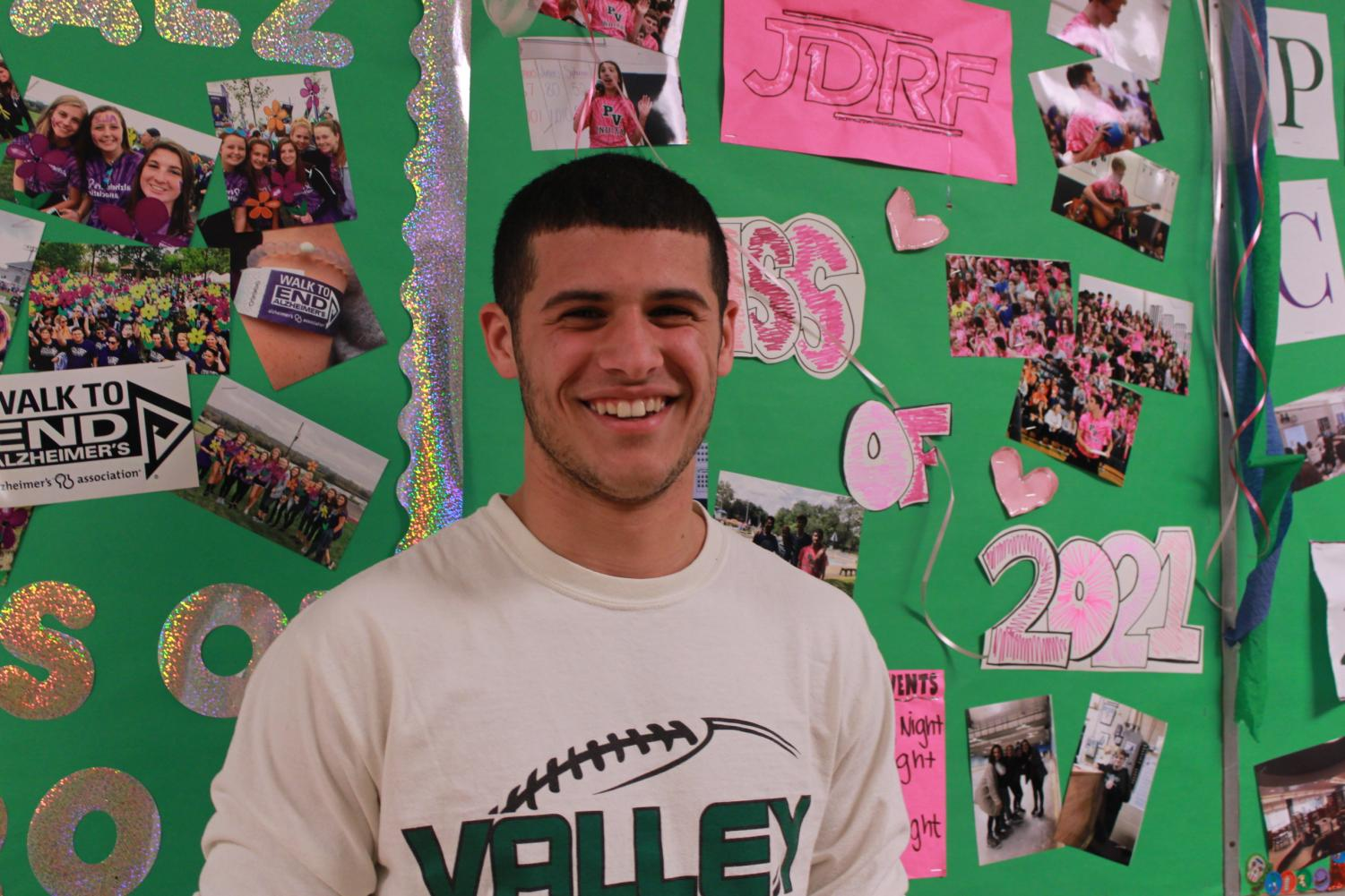 Andrew Martinez, a member of the winter track team, is our Athlete of the Week.