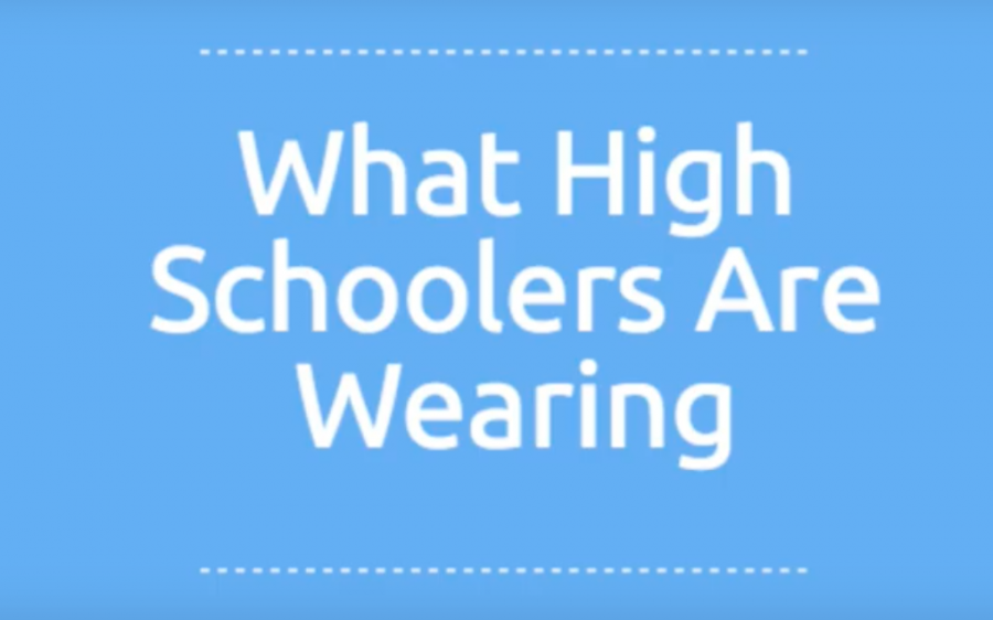 What High Schoolers Are Wearing: Part 1