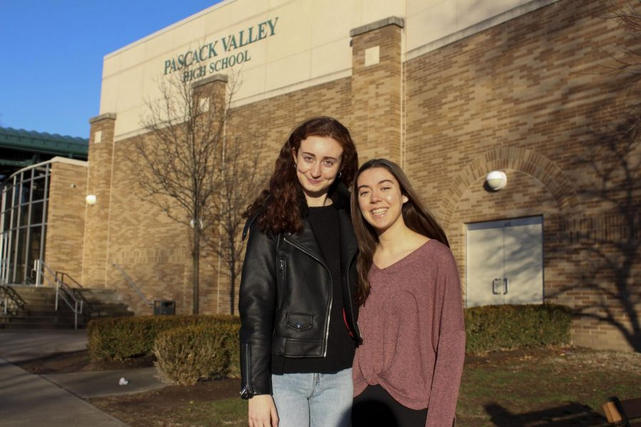 Pascack+Valley+juniors+Rachel+Cohen+and+Katie+Mullaney+are+going+to+be+editors-in-chief+of+The+Smoke+Signal+for+the+2019-2020+school+year.+Editor-in-chief+Madison+Gallo+and+assistant+editor-in-chief+Kayla+Barry+will+be+graduating+at+the+end+of+this+year.