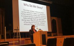 Speaker talks to PV students about 'The Teen Sleeping Crisis'