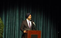 New Jersey Attorney General Gurbir Grewal speaks about his experiences with discrimination while as a federal prosecutor. He presented at Unity in the Valley with community members, students, and religious leaders on Tuesday, March 19.