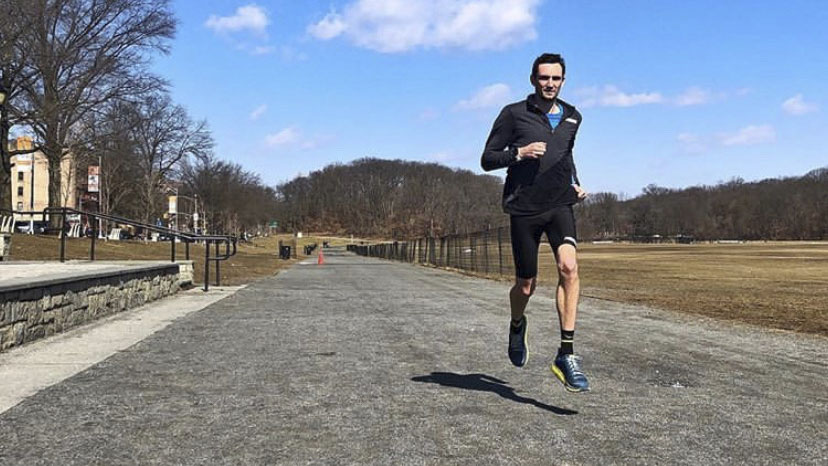 Former PV track star runs sub-four-minute mile