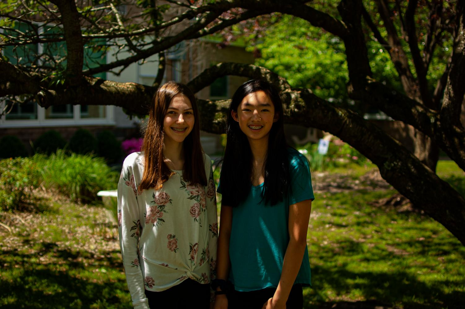 Julia Scozzafava and Kate Ng are pursing their Gold Award projects to reach the highest level of Girl Scouts. Girls Scouts normally complete two Journeys by learning about an issue and finding a way to take action.