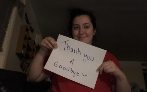 'Thank you and goodbye'