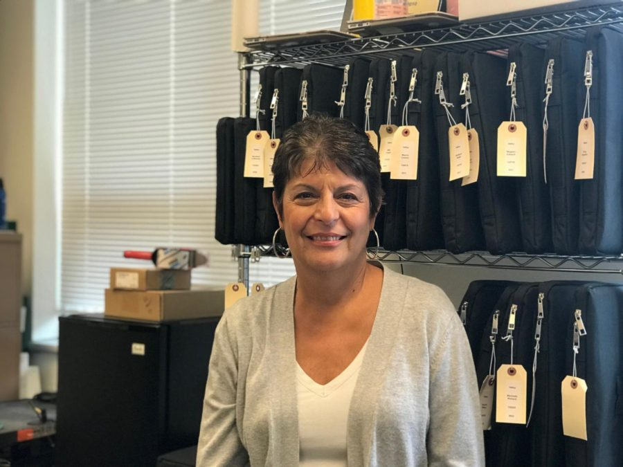 Pascack+Valley+Regional+High+School+District+Data+Services+Manager+Mary+Camporeale+is+set+to+retire+on+Dec.+31+after+being+in+the+district+for+24+years.+As+the+data+services+manager%2C+she+managed+all+the+databases%2C+including+Genesis%2C+the+portal+in+which+Pascack+Valley+students+utilize+to+access+their+grades%2C+and+Canvas%2C+a+district-wide+educational+learning+management+system%2C+along+with+state+reporting.+