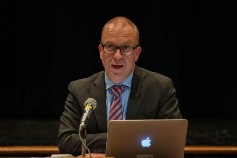 After 27 years of working in the Pascack Valley Regional High School District, Superintendent Erik Gundersen is resigning. His resignation becomes effective on June 30.