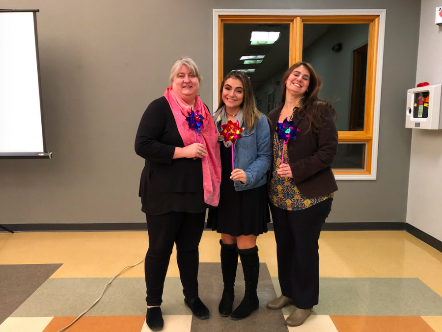Pascack Valley senior Dani Menendez presented a powerpoint on causes of anxiety in teens and coping mechanisms for her Girl Scout Gold Award at the River Vale Community Center on Nov. 14. She decided to focus this project on mental health from her own experiences.