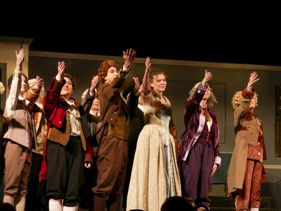 "The cast and crew of  were in their final dress rehearsal of the ""1776"" spring musical when they received an email that they were still going to perform only to direct family. The next day, the musical was cancelled on opening night due to coronavirus concerns."