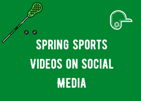 The girls lacrosse team and softball team posted videos on social media displaying their talent.