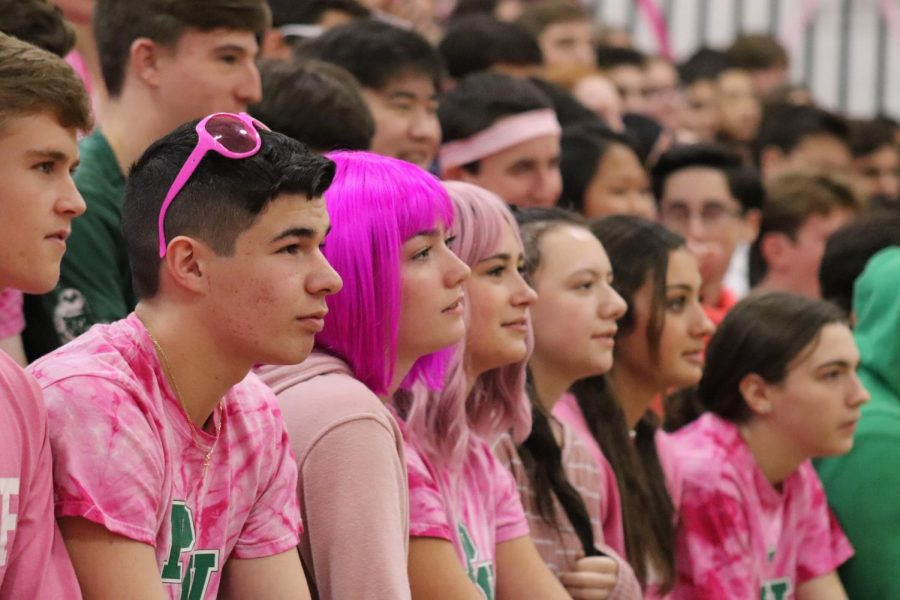 Juniors watch a lip sync battle during November's Valley Cup. With school shut down due to the pandemic, the Executive Council has decided to host a Valley Cup virtual on Wednesday.