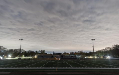 The football field lights up at 8:20 p.m. every Friday. The lights of the football fields at both Pascack Valley and Pascack Hills turn on to honor the Class of 2020.