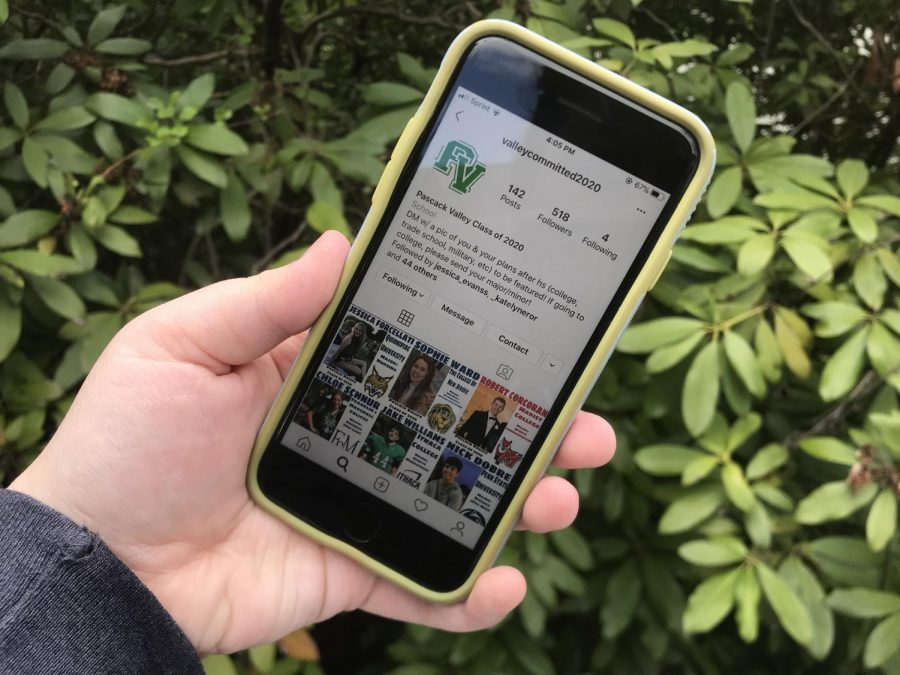 Senior Class Council President Emily Kennedy created an Instagram account as a way to celebrate National Commitment Day amid the coronavirus pandemic. She began the account on April 12.